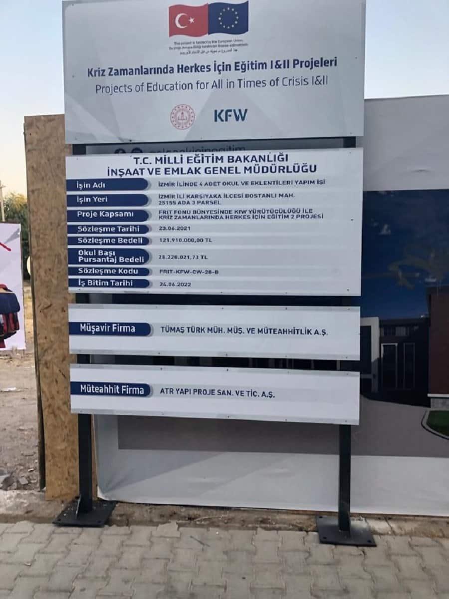 izmir mülteci okulları