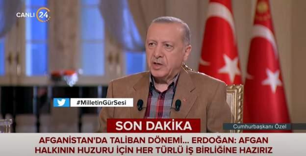 Erdoğan taliban