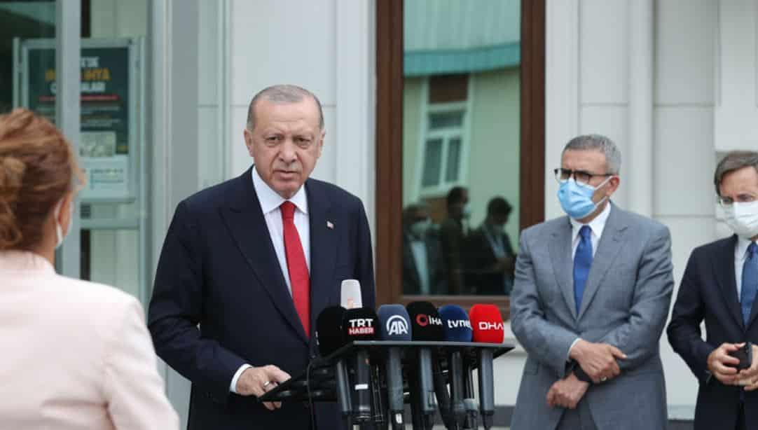 erdoğan yangın