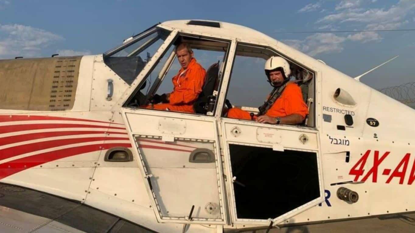 israil uçak