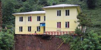 rize heyelan okul