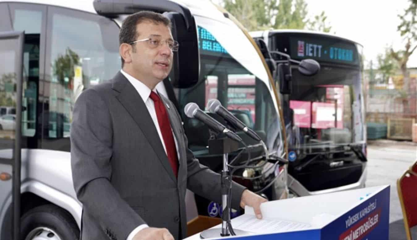 ekrem imamoğlu taksi
