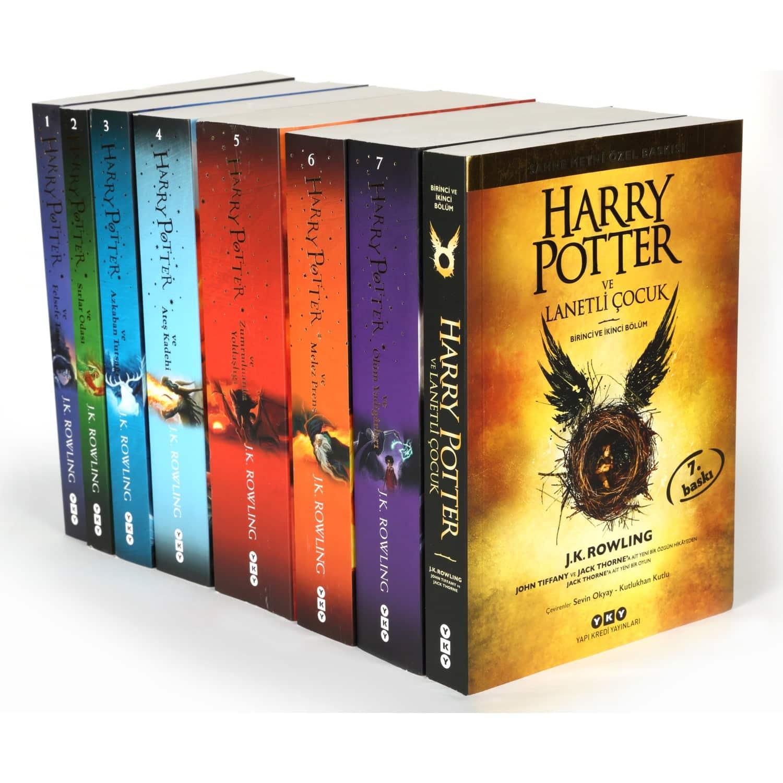 harry potter kitapları