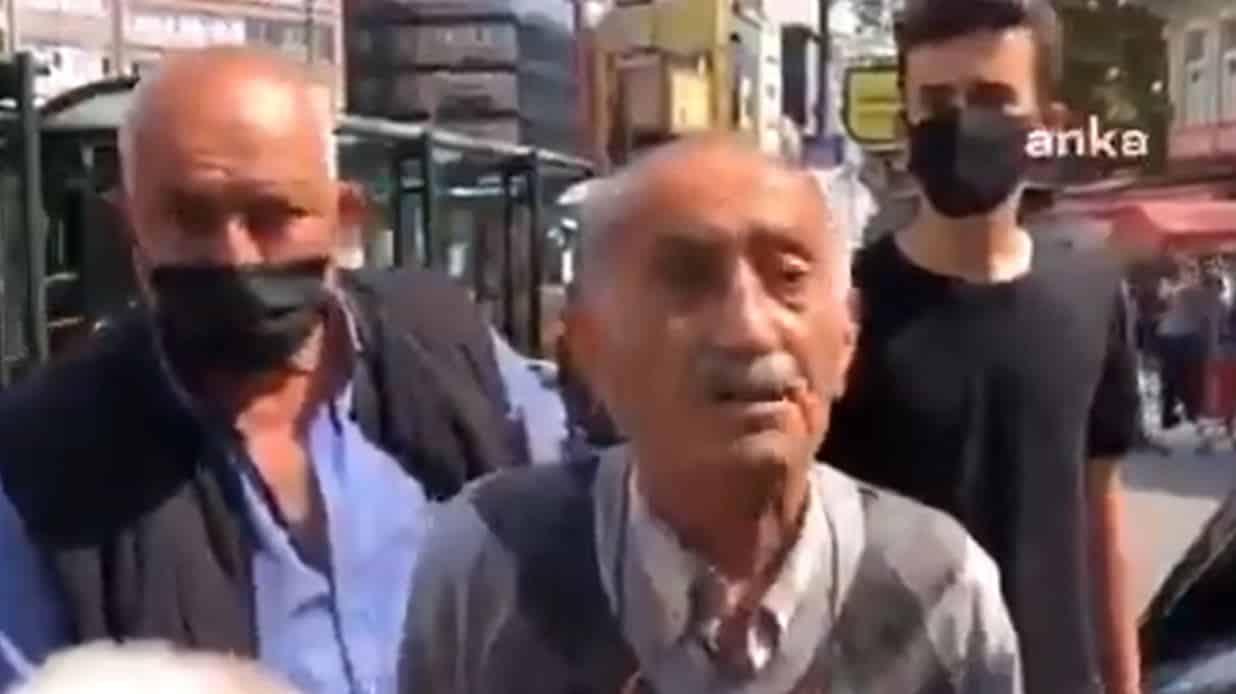 75 yaşındaki vatandaş