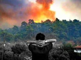yangında yanan
