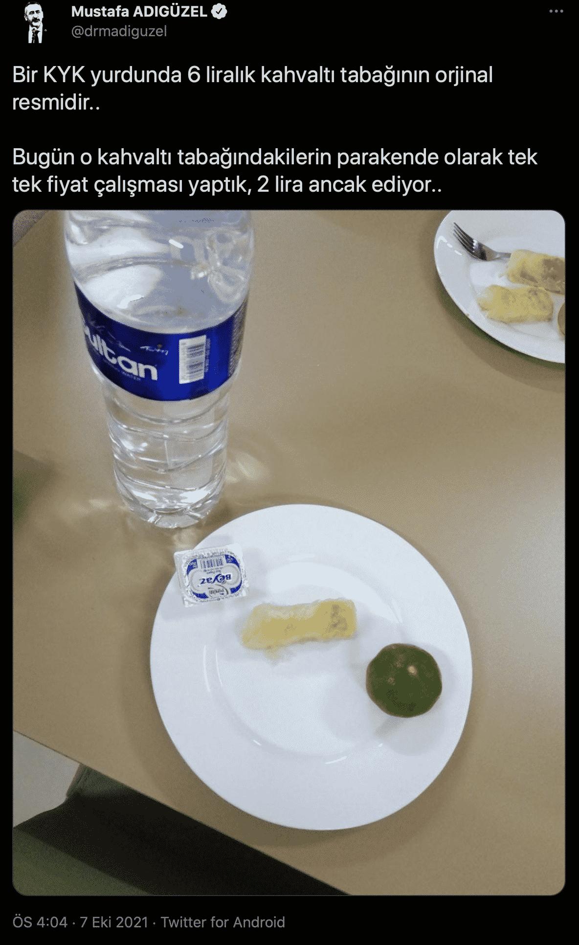öğrenci kahvaltı