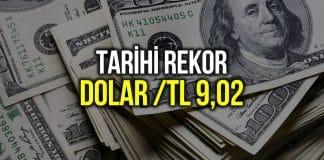 Dolar 9 lira