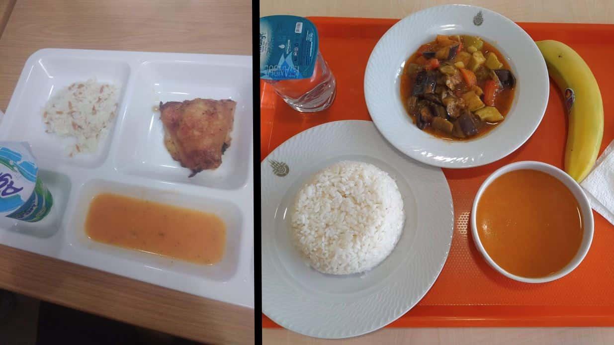 İBB yurtlarındaki yemek
